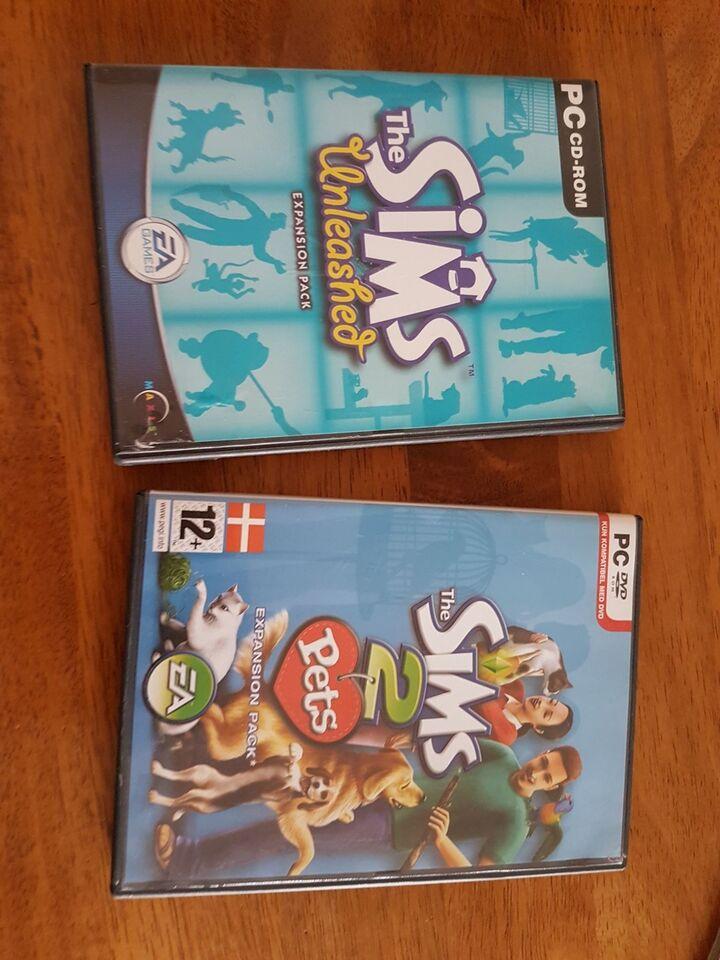 Sims spil, simulation