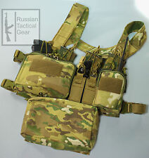 MBC Russian D3CR-H Heavy Tactical Chest Rig (Multicam) + Universal Pouch