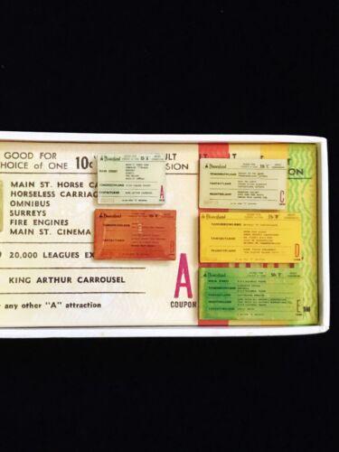 A-E Ticket Book Pin Set - Passholder Exclusive 2518 Disney Disneyland DLR