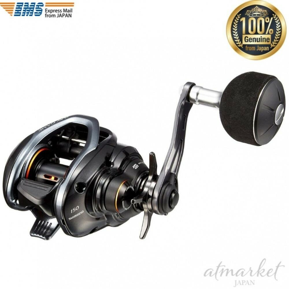 SHIMANO reel bait reel 18 bay game 150 right handle Fishing genuine from JAPAN