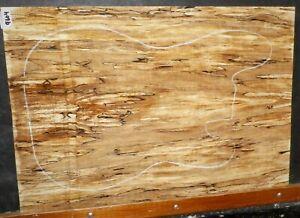 AgréAble Noir Line Spalted Maple Wood 9604 Luthier Corps Solide Top Set 23.75x 16.5x .500-afficher Le Titre D'origine Prix Fou