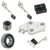 Delco 1 Wire Self Excited Alternator Kit 10si 12si Regulator Brushes Bearings