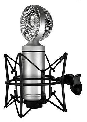 Cascade FAT HEAD II Active/Passive Ribbon Microphone Silver/Silver Mic, New!
