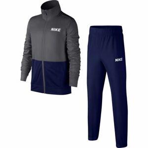 Nike-Chicos-NSW-Chandal-Poly-AJ3028-021-Gris-Azul-Blanco