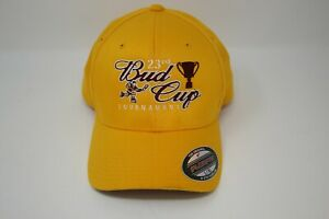 Details about 23rd Bud Cup Hockey Tournament Rock Springs, WY 2009 Hat  FlexFit L-XL Yellow