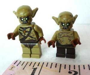 LEGO Alien Minifigures Lot of 2 different Space Figures