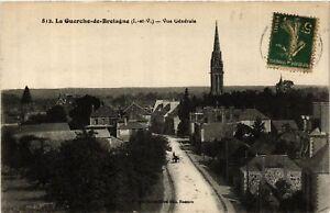 CPA La GUERCHE-de-BRETAGNE - Vue générale (584791)