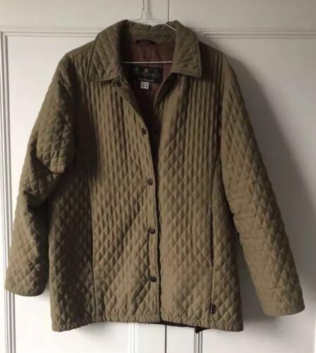 Barbour Coat Green Classic Eur36 Vintage Jacket Womens Uk10 4vad4f