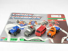 Transformers G1 Off Road Patrol Micromasters Complete Great Condition