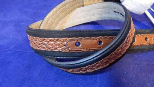 Tommy Bahama #B7569 Men's Size 32 Suede Braided Leather Belt NWT FREE SHIPPING