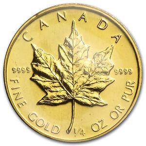 1984-Canada-1-4-oz-Gold-Maple-Leaf-BU-SKU-82821