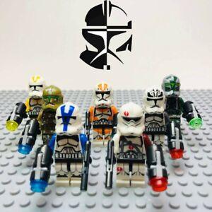 LEGO STAR WARS Compatible 21 Minifiguren Kashyyyk Clone Troopers Mini Figures