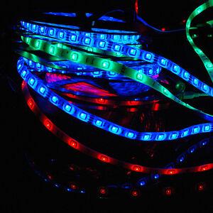 SET-1m-30m-LED-5050-SMD-RGB-Strip-e-Leiste-Streifen-Fernbedienung-Trafo-Netzteil