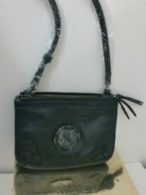 616d3c9aa4bf Mimco Leather MIM Supernatural Couch Hip Across body Hand Bag Brand New  Black