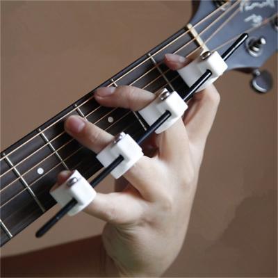 Guitarra Expansi/ón del dedo Pl/ástico Manga del dedo Fuerza del dedo Span Trainer Practicante Herramienta Instrumento musical Accesorios para ukelele Piano Saxof/ón Principiante