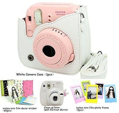 Fujifilm Instax Mini 8 Instant Camera - Accessory Bundles Set Only