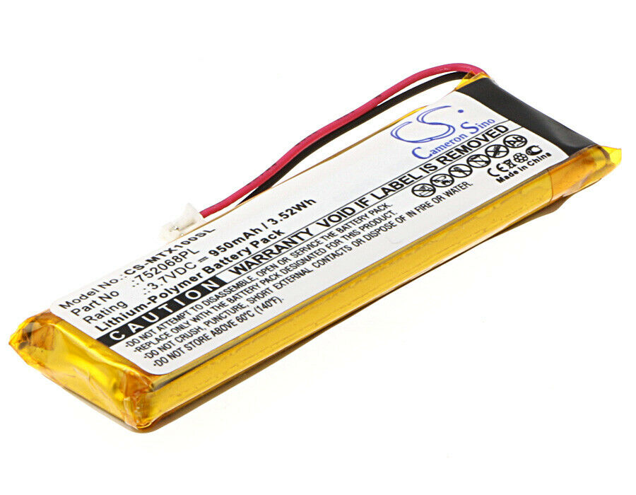 3.7V Battery for Midland BTNext 950mAh Premium Cell NEW