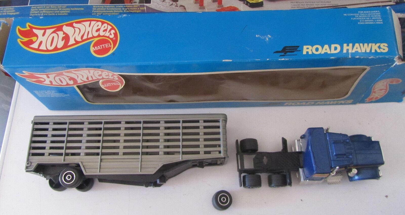 Camion Hot wheels Road Hawks rossoTAME vintage anni 80