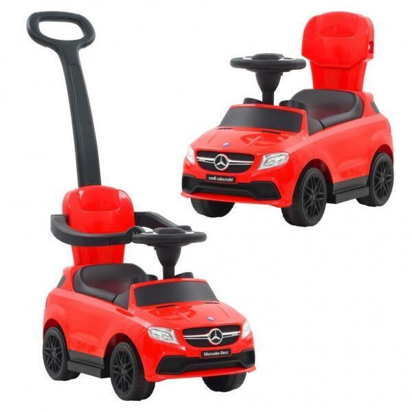 Baby Toddler Musical Ride on/ Push along  Toy Car  - Red