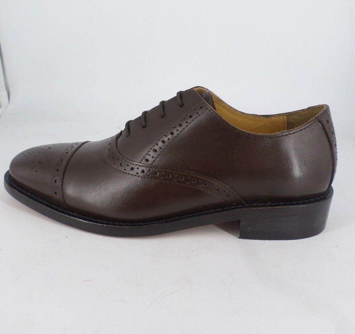 Samuel Windsor Classic Sandhurst shoes Brown JS22 45 SALEx