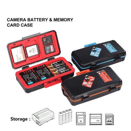 1PC LENSGO D950 Kamera Akku Aufbewahrungsbox für Canon Sony CF XQD Speicherkarte
