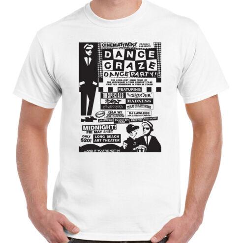 2 Tone Ska T-Shirt Mens The Specials Dance Craze Madness 2Tone Selecter Top