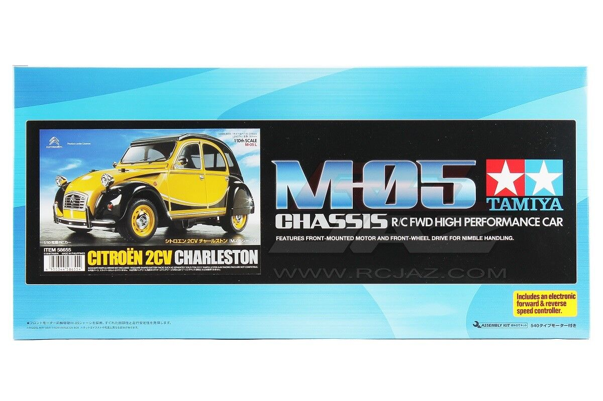 Tamiya 58655 1/10 Scale RC Car M05 Chassis Kit Citroen 2CV Charleston w/ESC