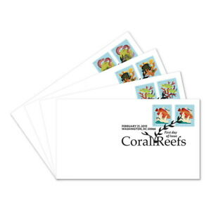 USPS-New-Coral-Reefs-First-Day-Cover-2-stamps-Set-4