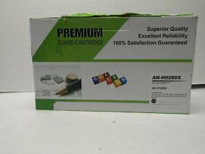 2 pack - CF280X 80X Compatible Toner Cartridge for Hp LaserJet Pro M401a M401d
