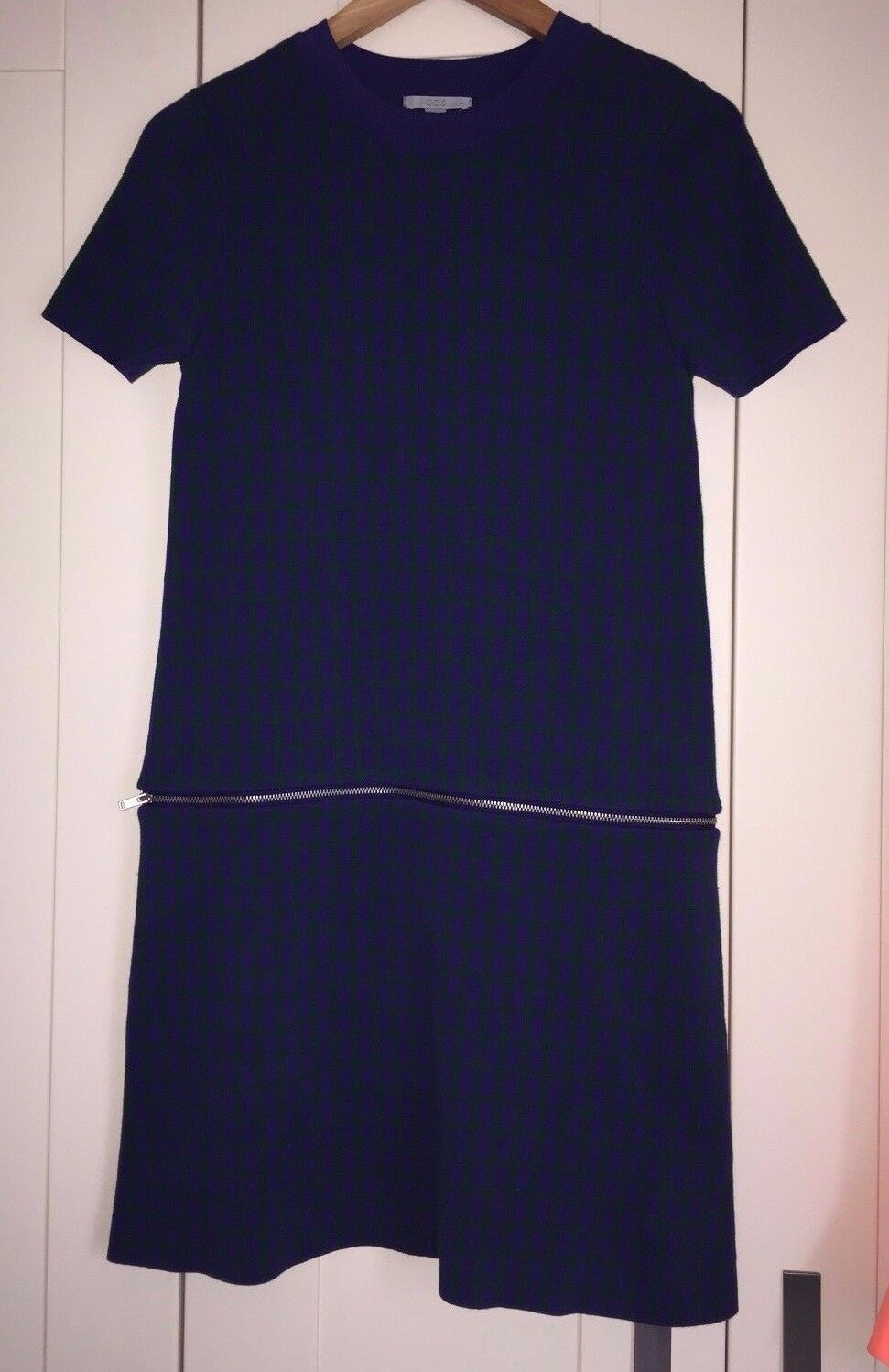 COS blueE DRESS SIZE  SMALL Vgc