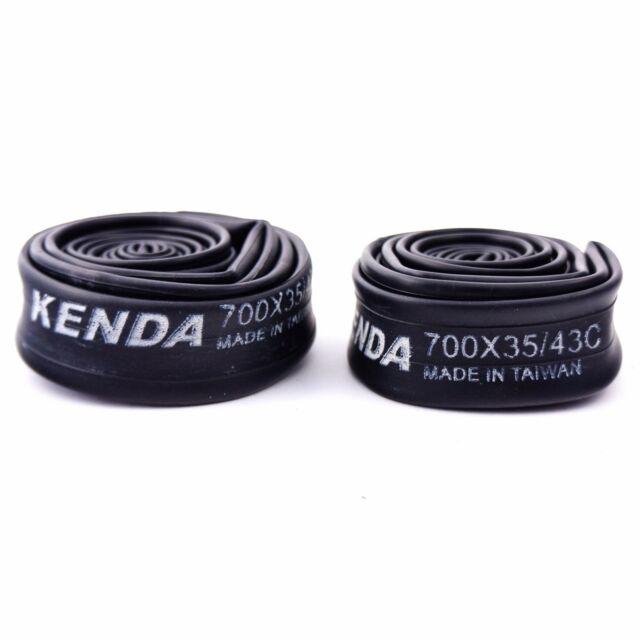 Schrader Valve 2-PACK KENDA Bicycle Inner Tubes 24 x 1.5-1.75 PAIR