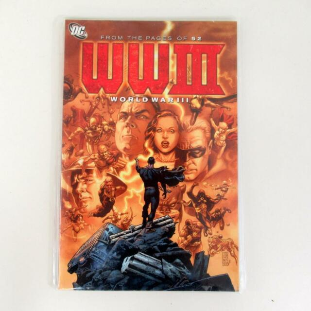 DC: World War III Comic Book by Keith Champagne & John Osrander - Good Condition