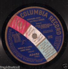 Oscar Seagle on 78 rpm Columbia A2452: Calling Me Home to You/There's a Long