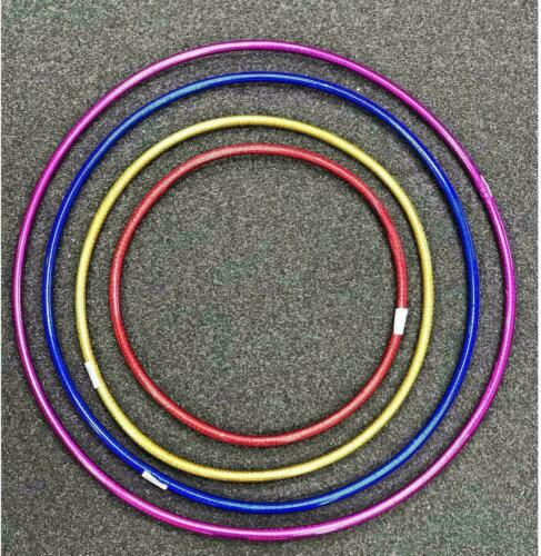 2x Kids Solid Hula Hoops 50//60//65//70cm Adults Playing Fitness Exercise Yoga Xmas