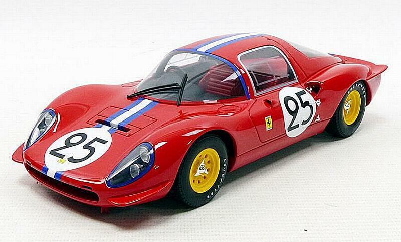 Ferrari dino 206s Berlinetta Le Mans 1966 1 18 CMR cmr040