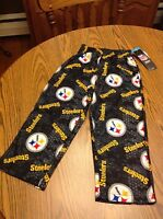Nfl Pittsburgh Steelers Boys Pajamas Lounge Bottoms Size Small (4) -