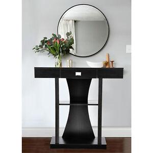 hallway desk furniture. Image Is Loading Art-Deco-Style-Designer-Console-Table-Mirror-Side- Hallway Desk Furniture