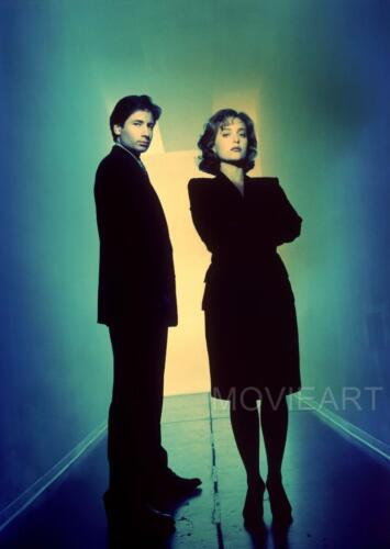 THE X FILES MULDER /& SCULLY TEXTLESS POSTER TELEVISION TV A4 A3 ART PRINT DESIGN