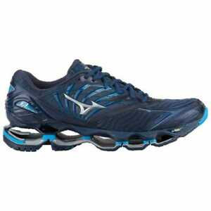 16b3e6496b8b Mizuno Wave Prophecy 8 Blue Wing Tail/Silver Men's 105473 | eBay