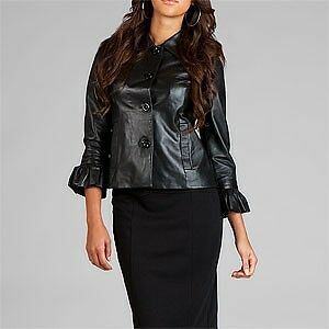 NWT-Authentic-Apart-Black-Infusion-Leather-Jacket