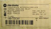 Allen Bradley Overload Relay 3 Pole 70-90 Amp 193 Tdc90