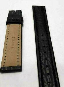 Details zu Uhrenarmband Tissot Schwarz 18mm