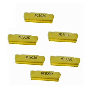 10pcs MGMN 500-M NC3030 5mm wide carbide inserts cut-off turning tool inserts