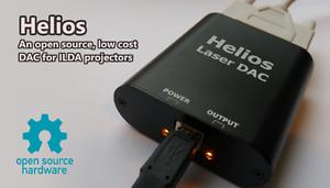Helios-Laser-DAC-Low-cost-laser-ILDA-projector-USB-controller-adapter