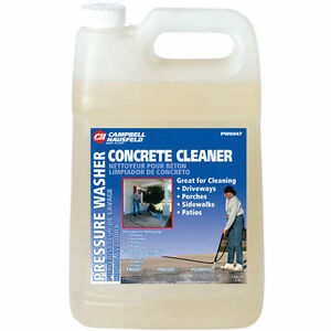 Campbell hausfeld concrete cleaner ebay for Organic concrete cleaner