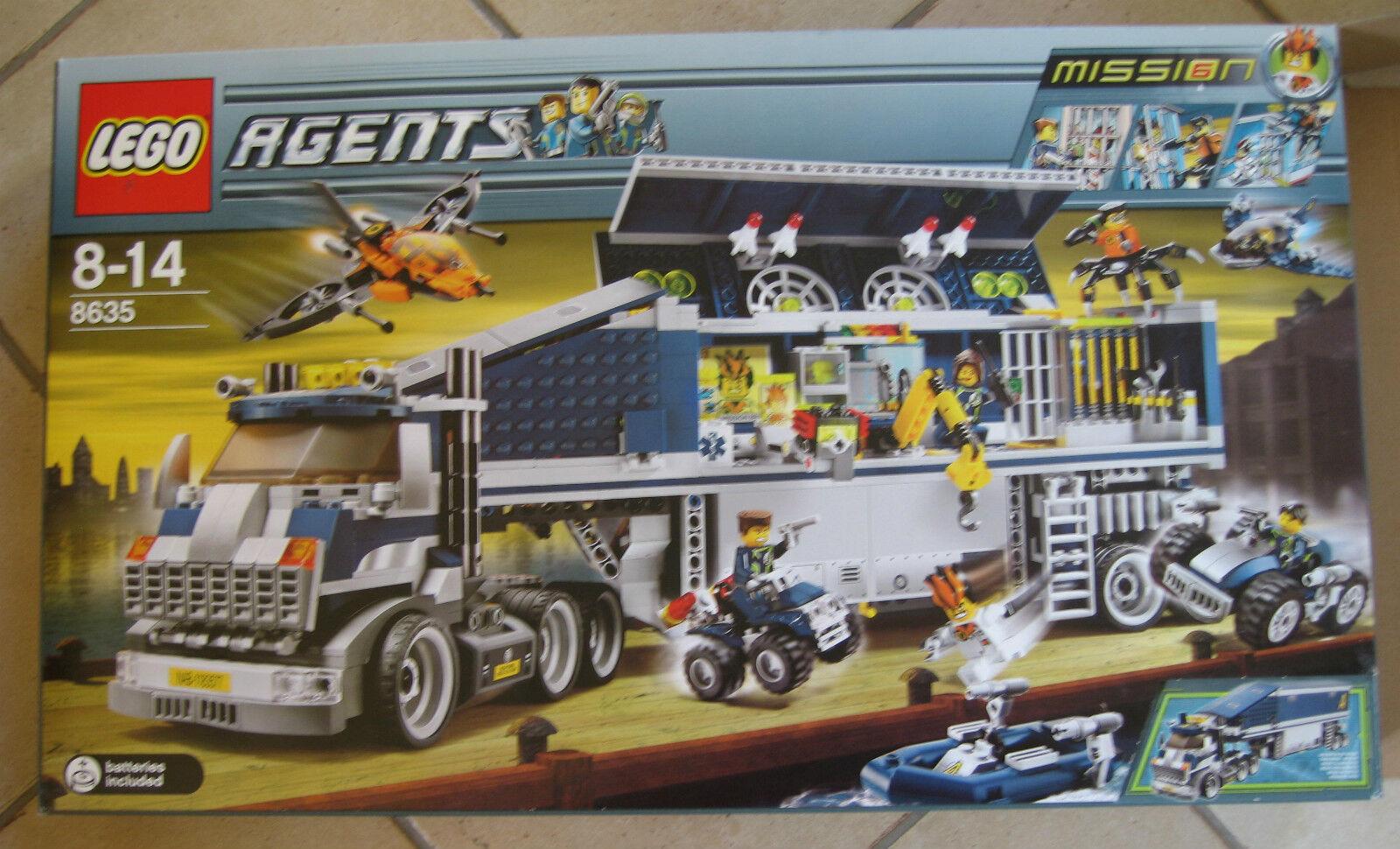 Lego Agents Nr. 8635 Mission 6 Mobile Kommandozentrale