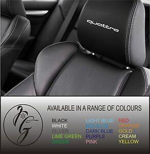 5-quattro-car-seat-head-rest-decal-sticker-vinyl-graphic-logo-badge-free-post