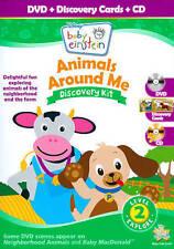 Baby Einstein: Animals Around Me Discovery Kit (DVD, 2010)