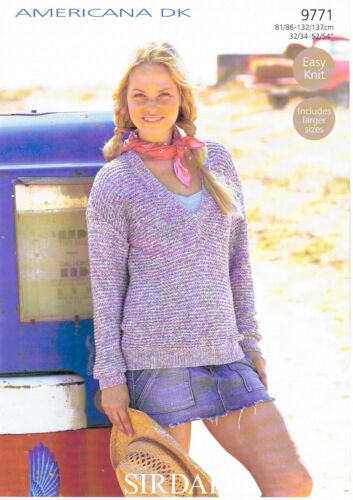 Sirdar Knitting Americana DK 9769 9774 9773 9771