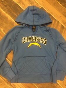 2e653318af5f WOMEN S NFL Team Apparel San Diego Chargers SEWN PULL-OVER HOODIE ...